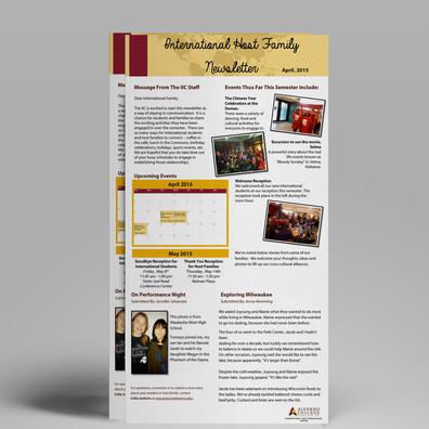 Host Family Newsletter