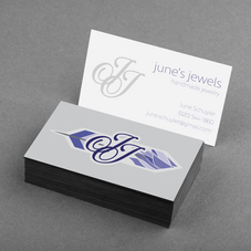 June's Jewels Business Card