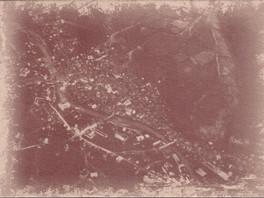 Изглед на Габрово от цепелин