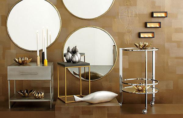 Metallic - 2017 design trends