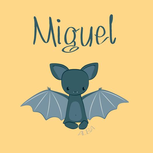 Miguel - Personalise design