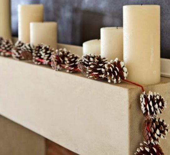 Pinecone - Winter DIY