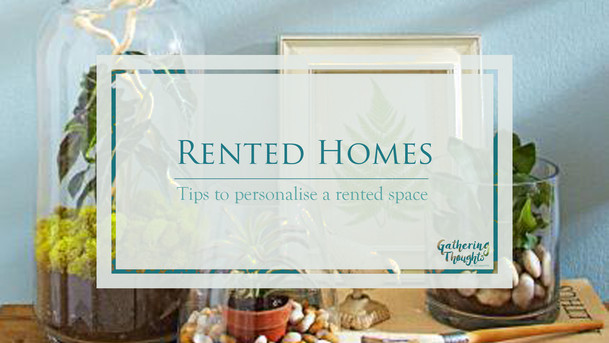Tips to personalise a rented home