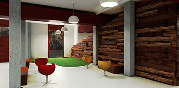 Interior design render - Office project