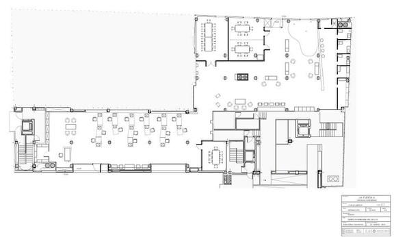Co-working project - La puerta 6 - Plan