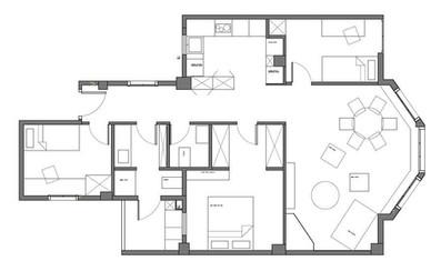 Residential interior design project - La finca roja Valencia