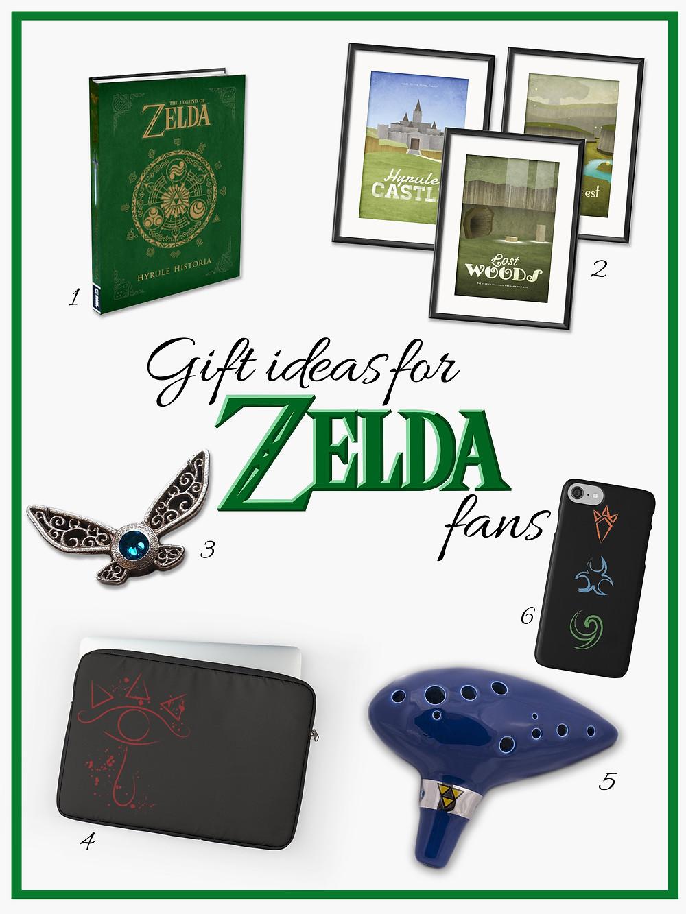 Gift ideas for Zelda fans