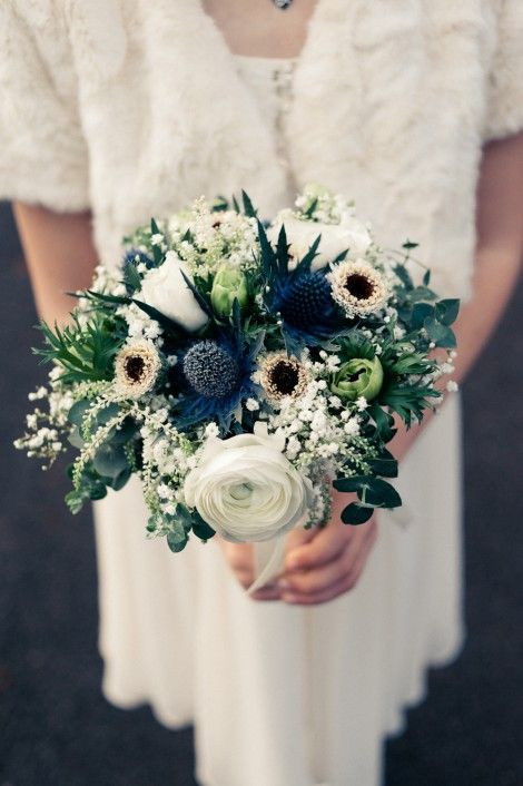 Winter wedding - colour palette