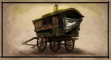 Visual concept - caravan set design