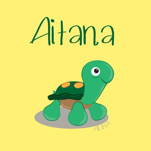 Aitana - personalise design