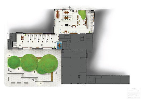 Visual plan - Co-working office design - Valencia