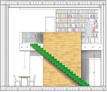 Interior visual elevation - residential interior design project