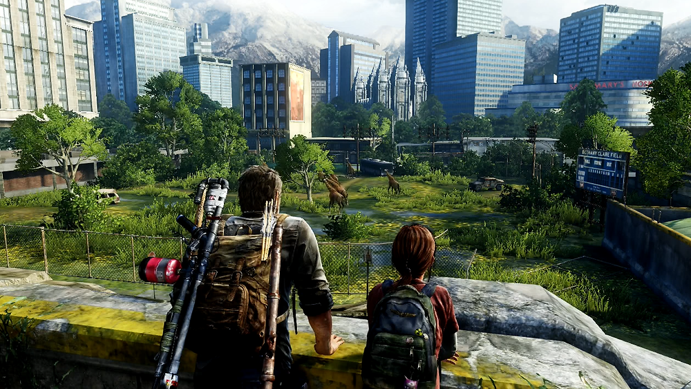 Game environment - The Last of Us