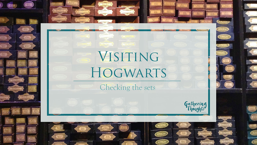 Harry Potter Studio Tour - Gathering thoughts - review