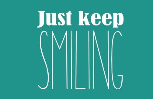 Smiling - inspirational design