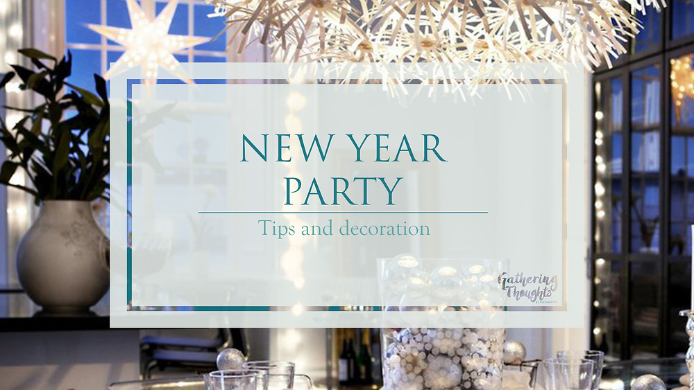 New Year party decoration