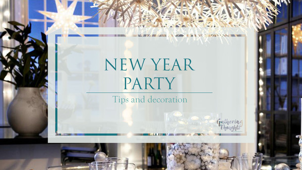 New Year party decoration ideas