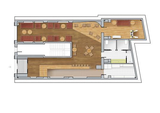 Visual plan - Interior design commercial - Bar Valencia