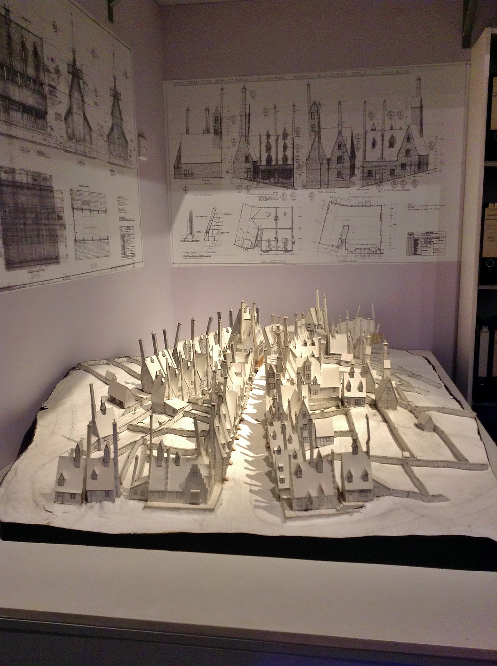 Harry Potter - White models - Set design