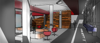 Visual concept - Interior design - Co-working space