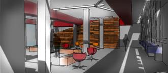 Visual concept - Interior design - Co-working space