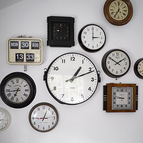 Decor with clocks