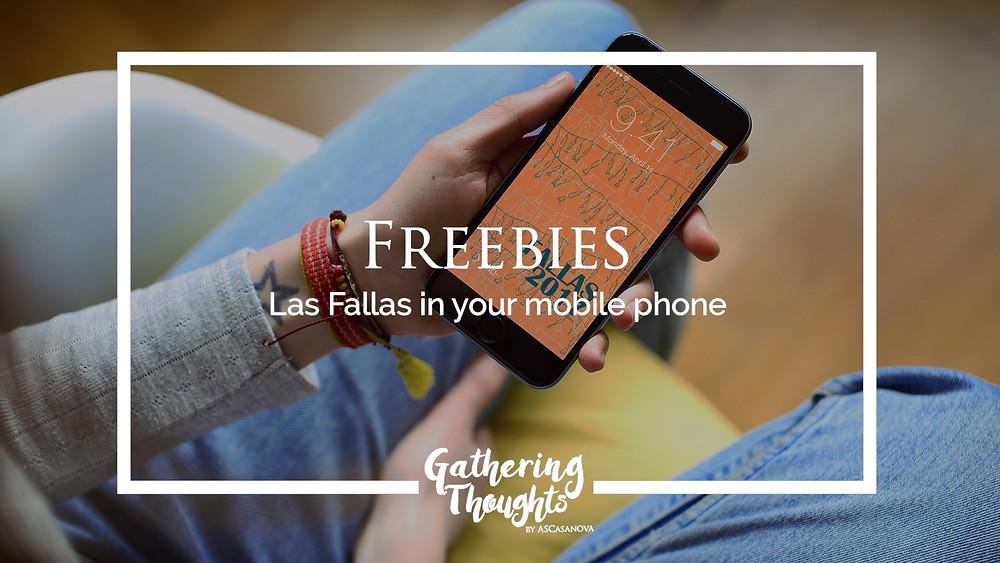 Freebies Las Fallas - Gathering Thoughts