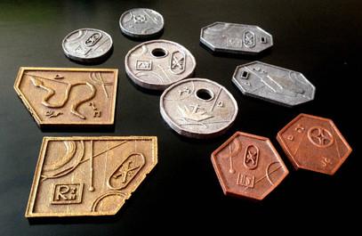 Coins prop - Set design project