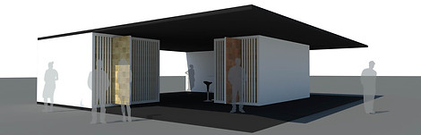 Stand exhibition - Render