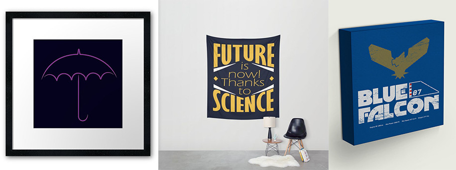 Geek interior design - wall decor