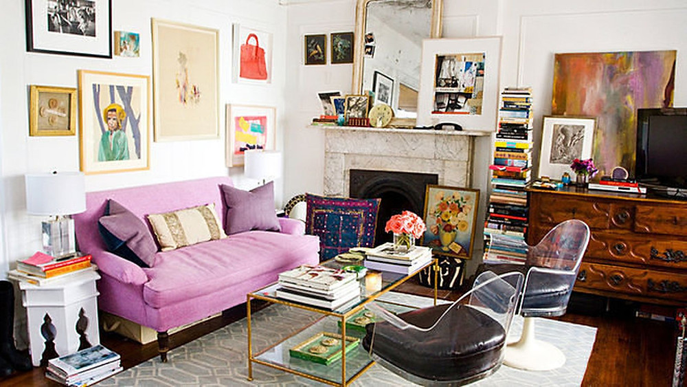 Maximalist and eclectic design