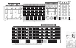 Exterior elevation - Co-working space - Valencia