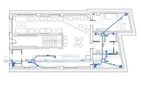 Technical drawing - Interior design commercial - ASCasanova