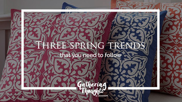 Three spring trends that you need to follow