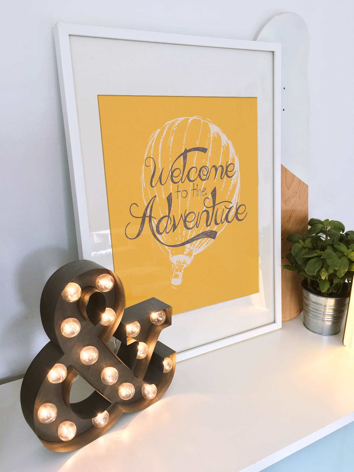 Welcome - Personalised design