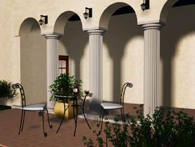 Render - Terrace design