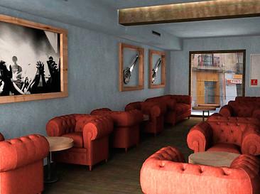 Commercial interior design project - Render