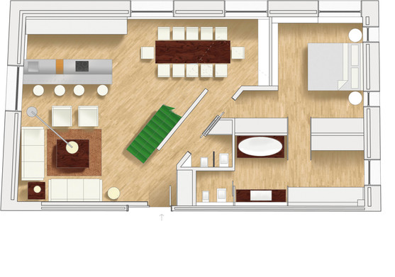 Visual plan - Residential interior design project