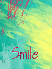 Smile with bright colours - modern design