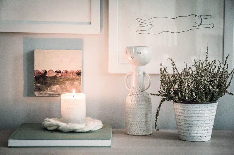 Candles and plants - Gathering Thoughts