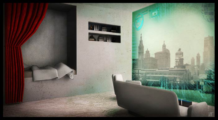 Futuristic concept - Set design project