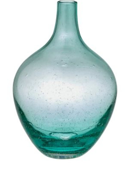 Dame Jeanne 20 cms turquoise
