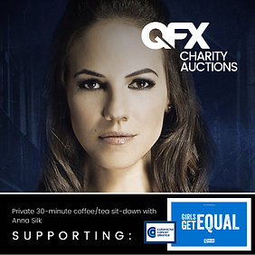 Anna Silk is supporting
