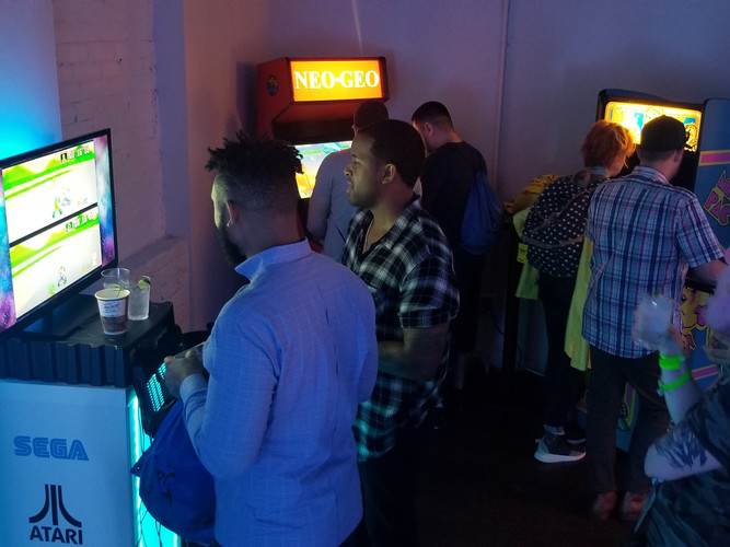 SXSW Video Games and Arcades