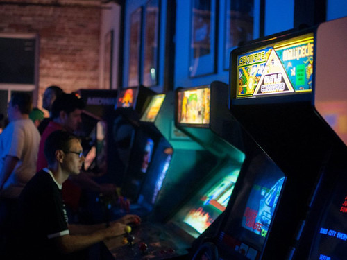 SXSW Arcade Activation
