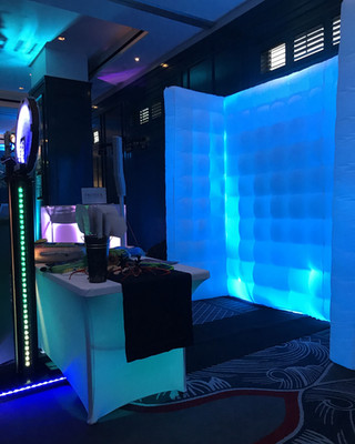 Open Air LED Photo Booth