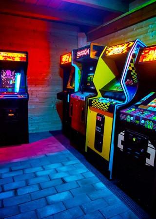 Custom Neon Arcade Activation