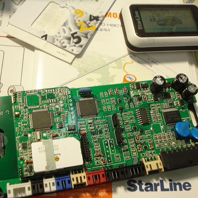 Установка gps-gsm охранного комплекса StarLine +79676644949 #lad #лад #лаборатория