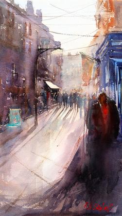 Devon Street Scene