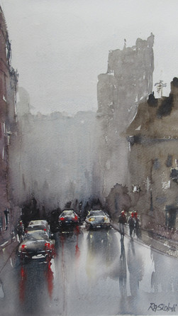 Rainy Day In Town